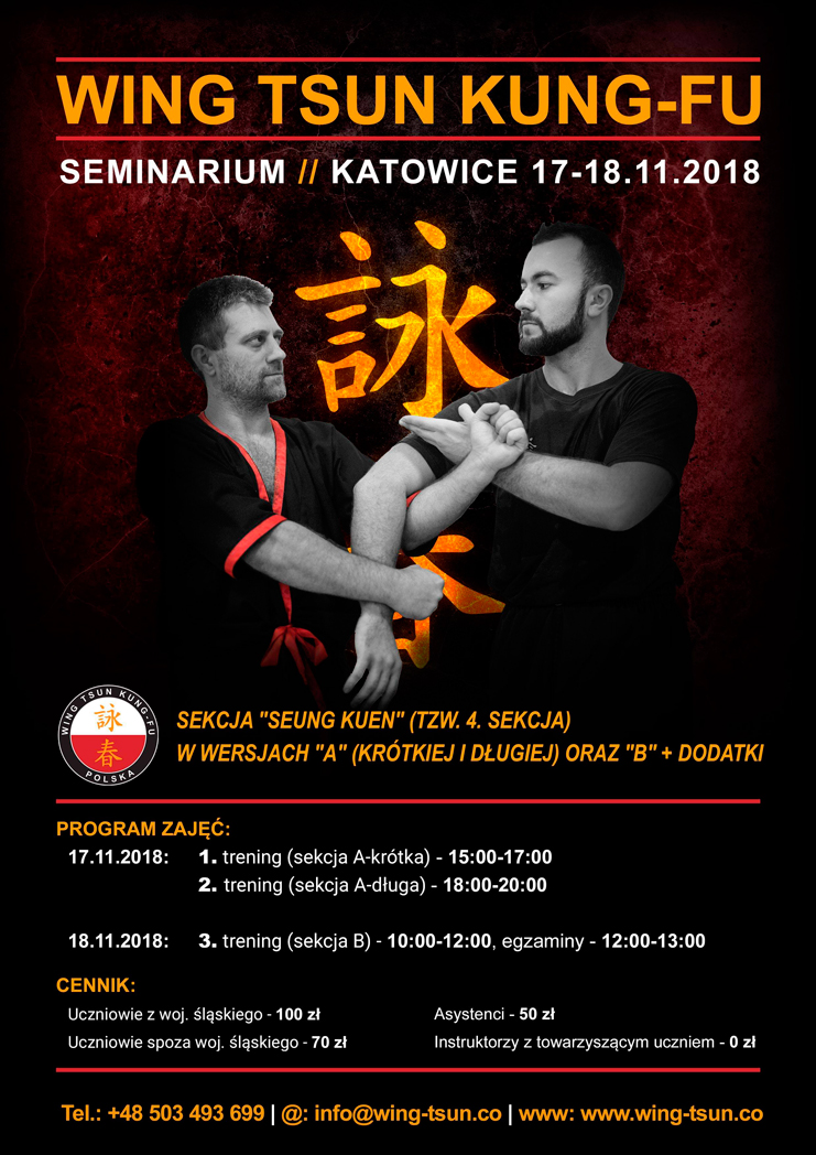Seminarium Katowice 17-18.11.2018