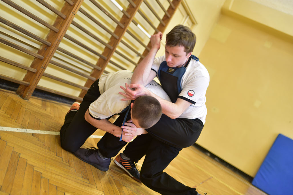 Wing Tsun Kung-Fu Katowice - trening 04.03.2017 - 1